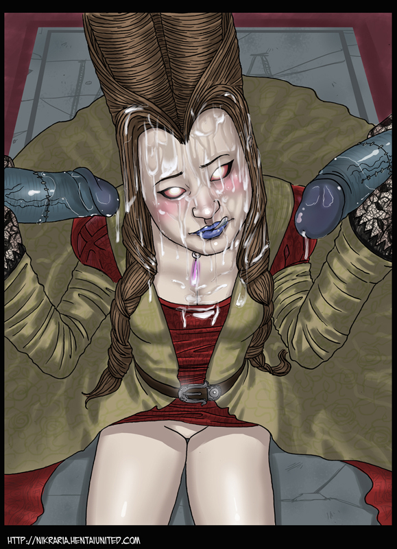 spider carnage shadows web of Trish from devil may cry