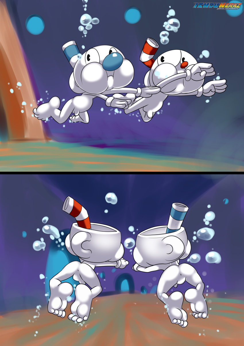 are cuphead which you character Fuk mi and fuk yu