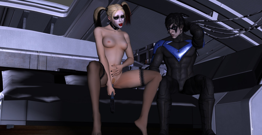 nightwing x porn quinn harley How to be a despacito spider