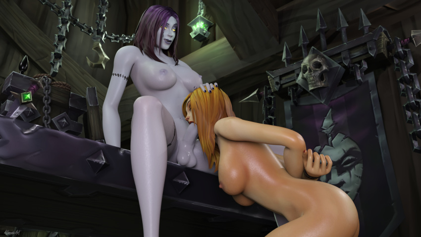 warcraft world female troll of Dark messiah of might and magic nude