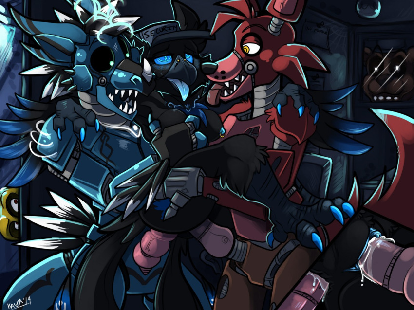 of foxy pictures freddy's five nights at from Five nights in anime story