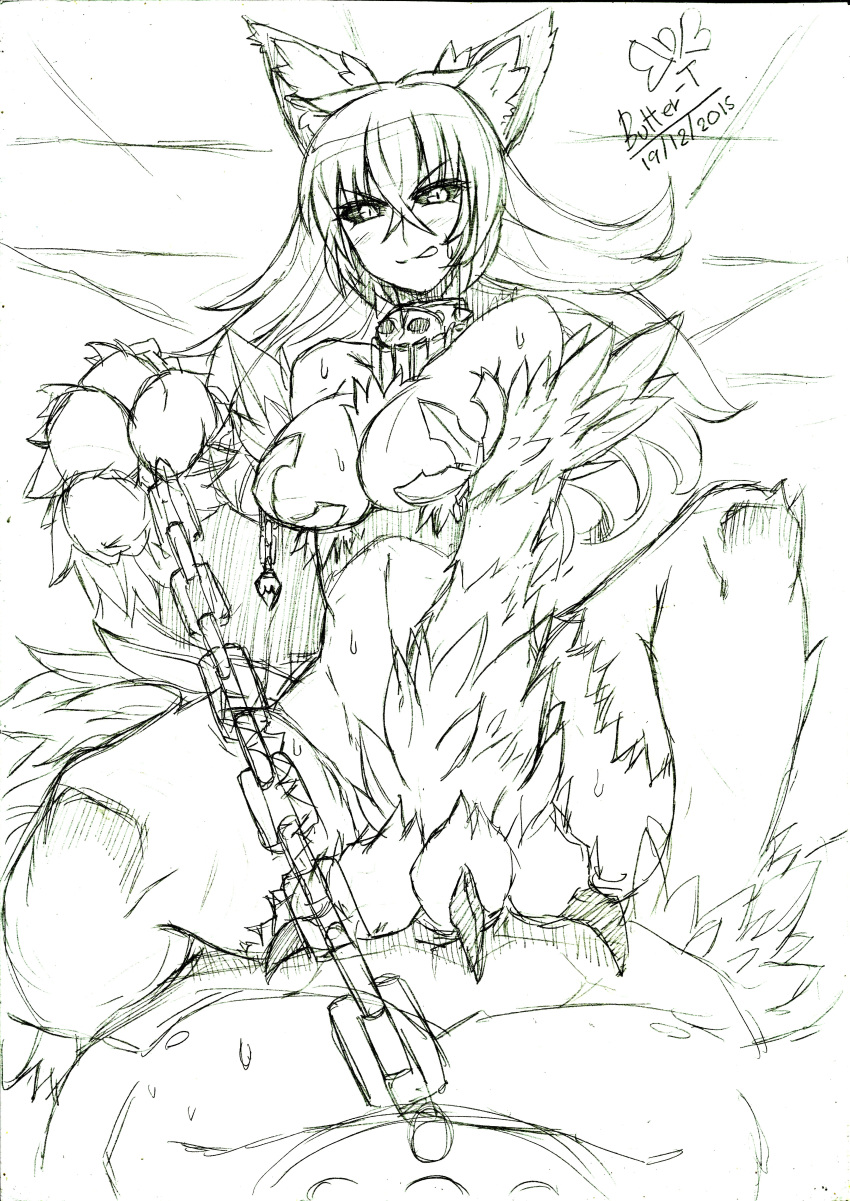 with a monster tionishia girl daily life Homare (fool's art)